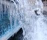 '소한'에 얼어붙은 청계천