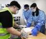 고령층 접종 앞두고 화이자 백신 수송