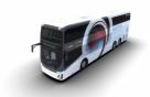 현대차 첫 '2층 전기버스', 한번 충전으로 300㎞ 달린다
