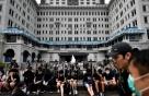 8월 홍콩관광객 40% 감소…'사스' 발병 이후 최악