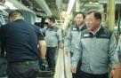 예병태 쌍용차 대표, 추석 앞두고 생산현장 방문
