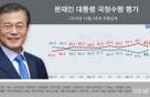 조국 사퇴 후 문대통령·민주당 지지율 올랐다-리얼미터