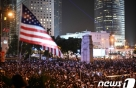 美 하원 '홍콩인권법' 통과에 中 전인대 '발끈'