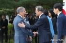 주한 미·중·일 대사 靑 방문…文대통령이 당부한 세 가지는