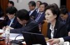"""[국감현장]김현미 """"임대차 신고시스템 정착돼야… 제재 필요"""""""