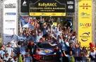 """현대차 월드랠리팀, WRC 4번째 우승…""""종합 우승 눈앞"""""""