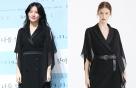 """이영애 vs 모델, 우아한 블랙 룩...""""같은 옷 다른 느낌"""""""
