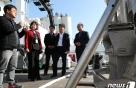 '후쿠시마 오염수 막아라'…원안위원장, 해상방사능 점검