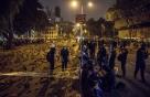 """시위에 마비된 홍콩… 정부 """"올해 마이너스 성장"""""""