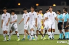'자책골 유도' 김학범호, 이라크에 1-0 앞서 전반 종료