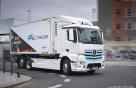 벤츠 전기트럭 'e악트로스' 성공적 시범운영…2021년 양산
