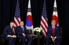 """[속보]文대통령, 트럼프와 통화…""""北과 대화 유지에 공감"""""""