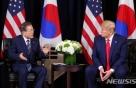 """트럼프 전화받은 文대통령…""""북핵 대화"""" 중재 나섰다"""