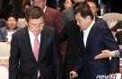 """황교안 국회 농성 선언에 한국당 의원들 """"우리도 참여"""""""