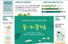 산림청, 내달 3일부터 '2020년도 산림복지서비스이용권' 지원 신청 접수