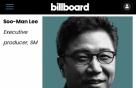 이수만 프로듀서, 美 빌보드 '2020 임팩트 리스트' 선정