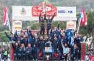 車경주도 극일..현대차 토요타 제치고 WRC 첫 대회 우승