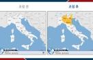 외교부, '코로나' 급증 이탈리아 3개州 '여행자제' 경보