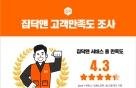 """집닥 """"사후관리 담당하는 집닥맨, 만족도 4.3점"""""""