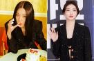 """레드벨벳 슬기-청하, 같은 옷 다른 느낌…""""매혹 vs 파격"""""""