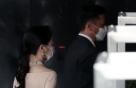 """진주 초커를 한 노현정 전 아나운서 """"재벌가 며느리의 헵번 스타일"""""""