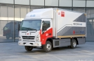 현대차 첫 전기차 중형트럭 '마이티' 우편배달부 된다