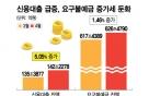 한달 새 신용대출 6.8조↑…'코인 열풍'에 되살아난 '빚투'