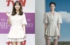 """박보영, 사랑스러운 베이지 셋업…모델과 같은 옷 """"어디 거?"""""""