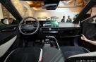 [사진]탑승자 편의성 강조된 EV6 운전석