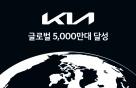 기아 글로벌 누적 판매 5000만대 돌파…가장 많이 팔린 모델은?
