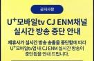"""LGU+ """"콘텐츠 사용료 협상결렬, CJ ENM 책임져야"""""""