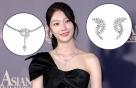"""공승연, 걸친 주얼리만 '5.3억'?…리본톱 드레스 룩 """"어디 거?"""""""