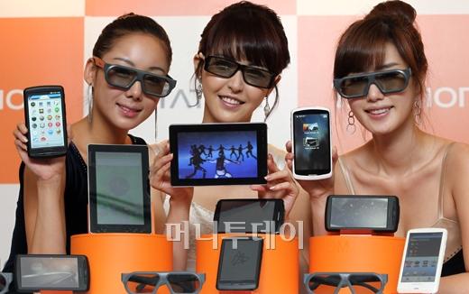[사진]이제 태블릿도 3D로 즐겨라!