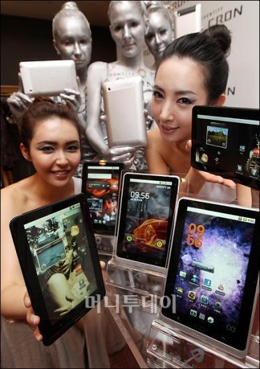 [사진]차세대 태블릿 '아이덴티티 크론' 출시