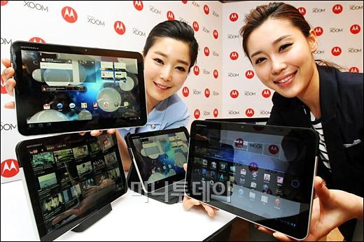 [사진]모토로라, 태블릿 PC 줌 출시