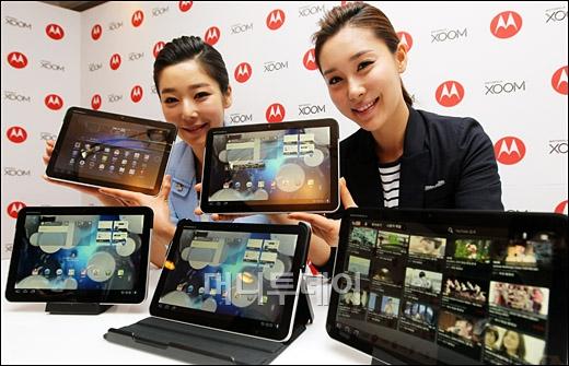 [사진]모토로라, 허니콤 태블릿 PC '줌' 출시