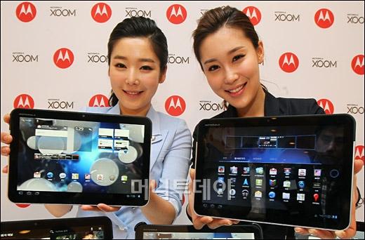 [사진]'모토로라 줌' 이것이 진짜 태블릿!