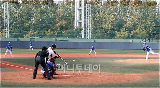 [사진]'제1회 전국직장야구선수권대회' 결승전