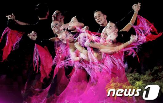 [사진]열정적인 댄스스포츠