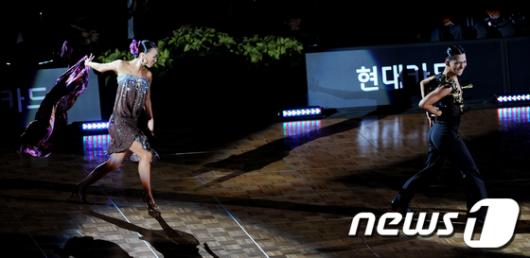 [사진]'현대카드 슈퍼매치 12 댄스스포츠'