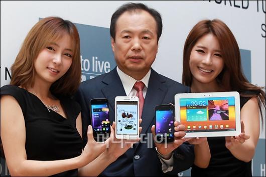 [사진]새로운 갤럭시 라인업 '노트-넥서스-탭 8.9 LTE' 출시