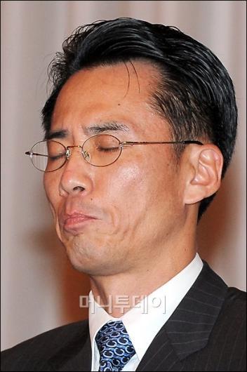 [사진]넥슨 최고 보안 책임자의 침통한 표정