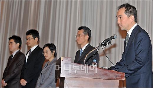 """[사진]넥슨 서민 대표 """"보안 강화에 주력할 것"""""""
