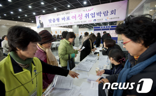 [사진]마포구, 맞춤형 여성 취업박람회 개최