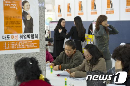 [사진]'맞춤형 마포 여성취업박람회'