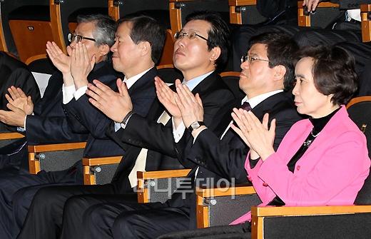 [사진]U클린 수상자들 축하하는 내빈들