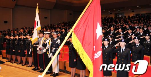 [사진]두번째 여성 ROTC 창설