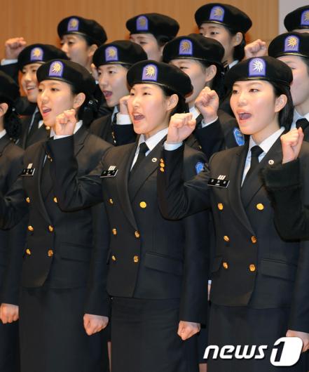 [사진]여성 ROTC 화이팅!