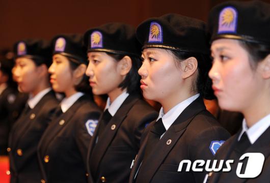 [사진]성신여대 학군단의 매서운 눈빛