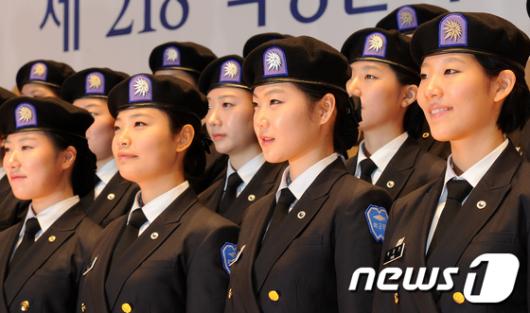 [사진]성신여대, 女大로는 두번째 학군단 창설